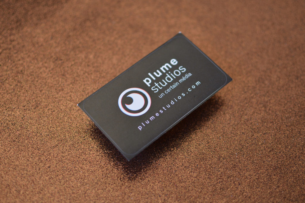 Plume Studio - sticker