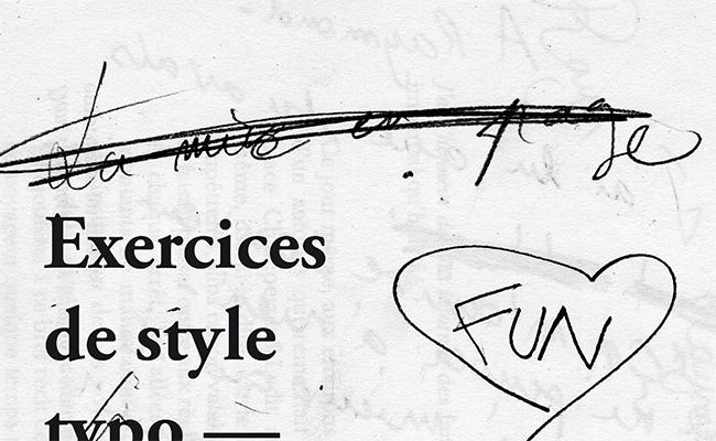 thumbnail exercices de style