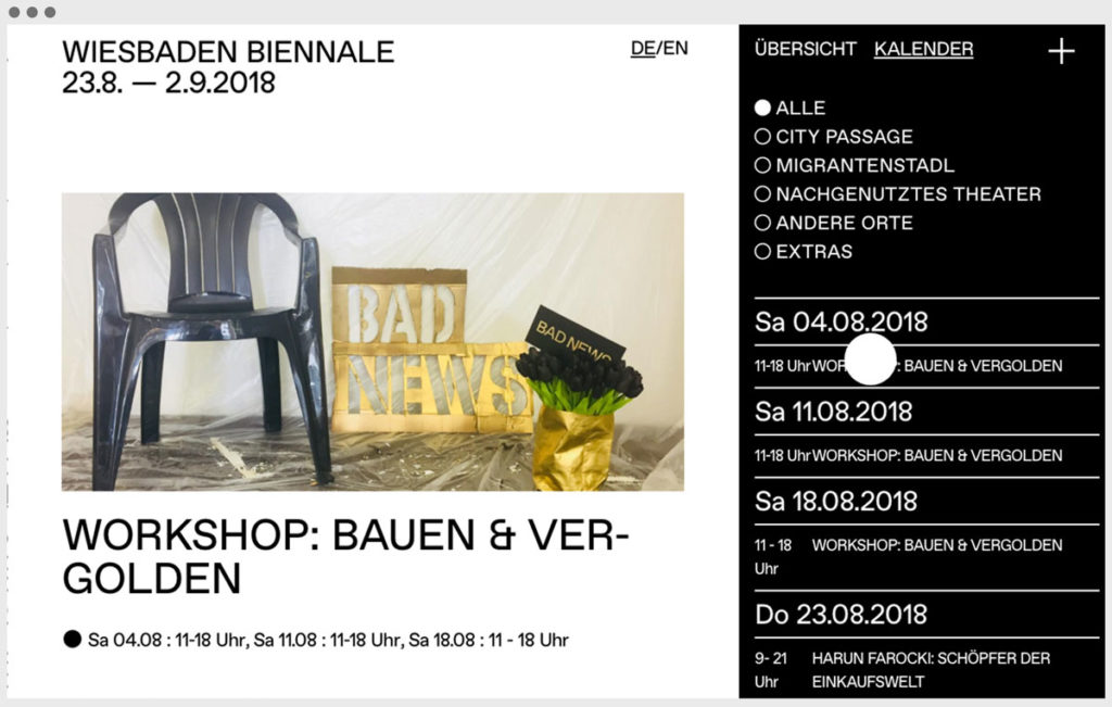 Screenshot Wiesbaden Biennale 4